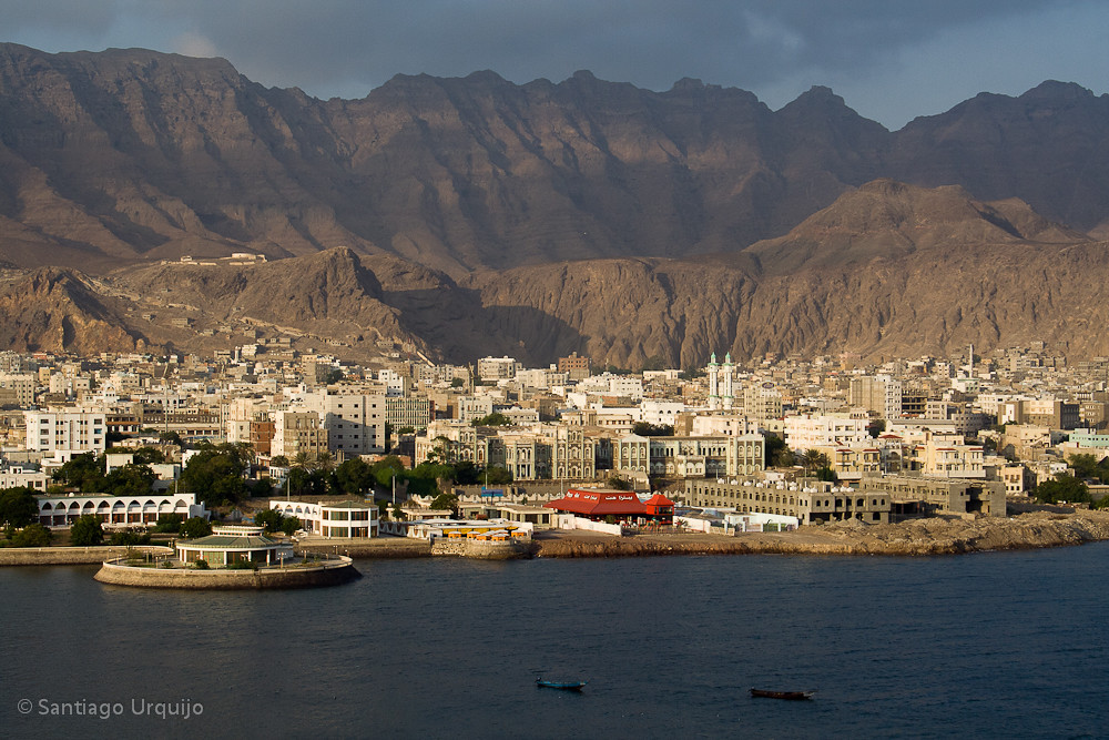 aden view from old fort built by the english aden is a se flickr