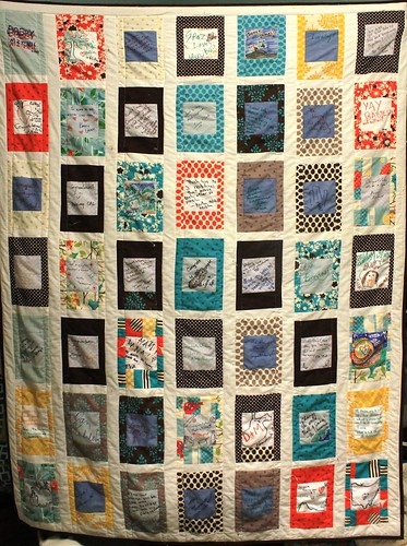 Wedding Signature Quilt | by DanaK~WaterPenny