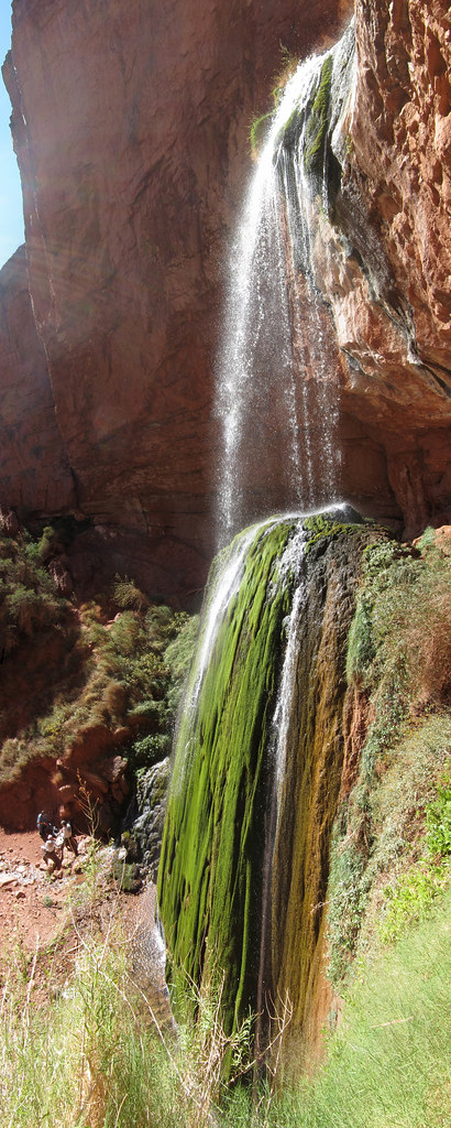 Chute Grand Canyon grand canyon national park: ribbon falls 0907e | (4000 x 100… | flickr