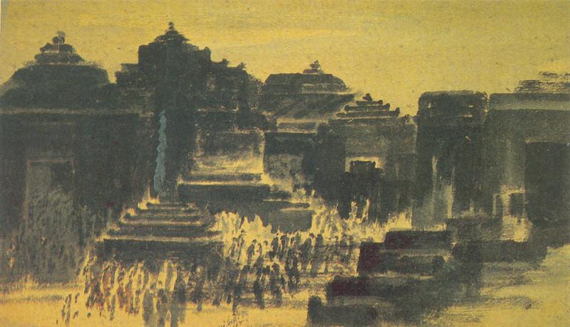 Image result for gaganendranath tagore dreamland