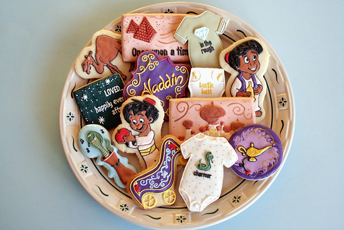 Aladdin Baby Shower Cookies. | by navygreen