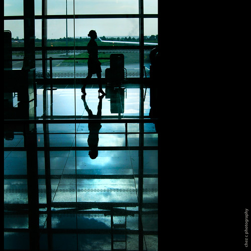 @ the Airport: silhouette | by Chez C. ( off and on )