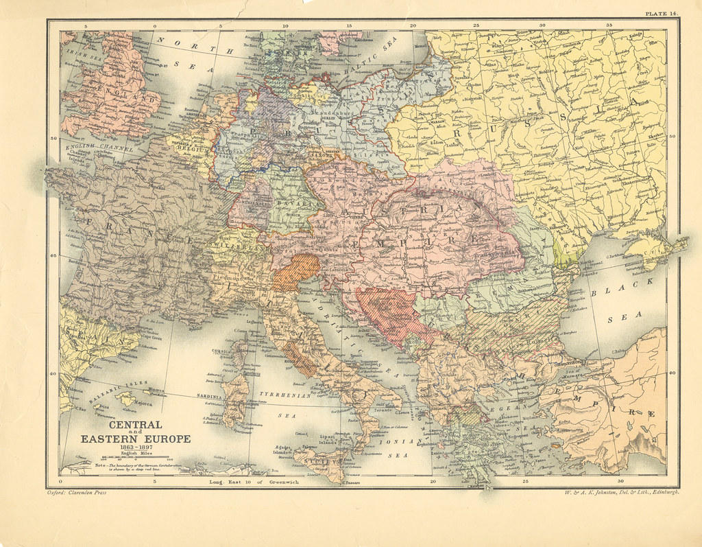 Map page 1 of Section XIV Europe, 1863-1897 from Part XXIV… | Flickr