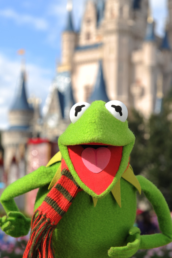 KERMIT THE FROG STARS IN DISNEY PARKS CHRISTMAS DAY PARADE… | Flickr