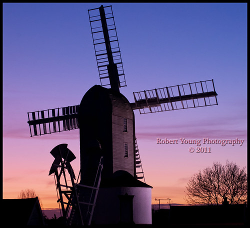 Windmill at Sunset | by Photography By Robert Young
