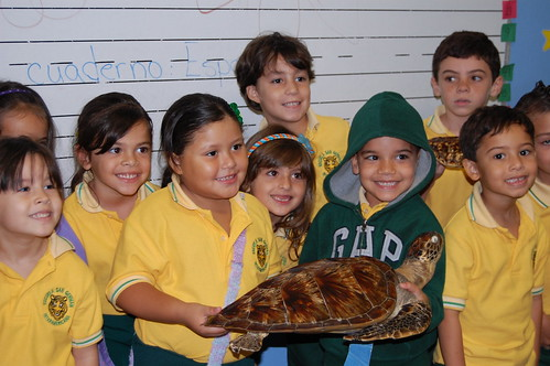 First graders of the Interamerican University Elementary School in San German | by USFWS/Southeast