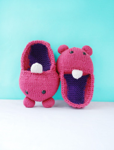 MochiMonsterSlippers | by babbling brook