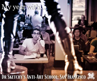 Announcing the Dr Sketchy's SF / Johnny Crash photo book | by Alice Stribling