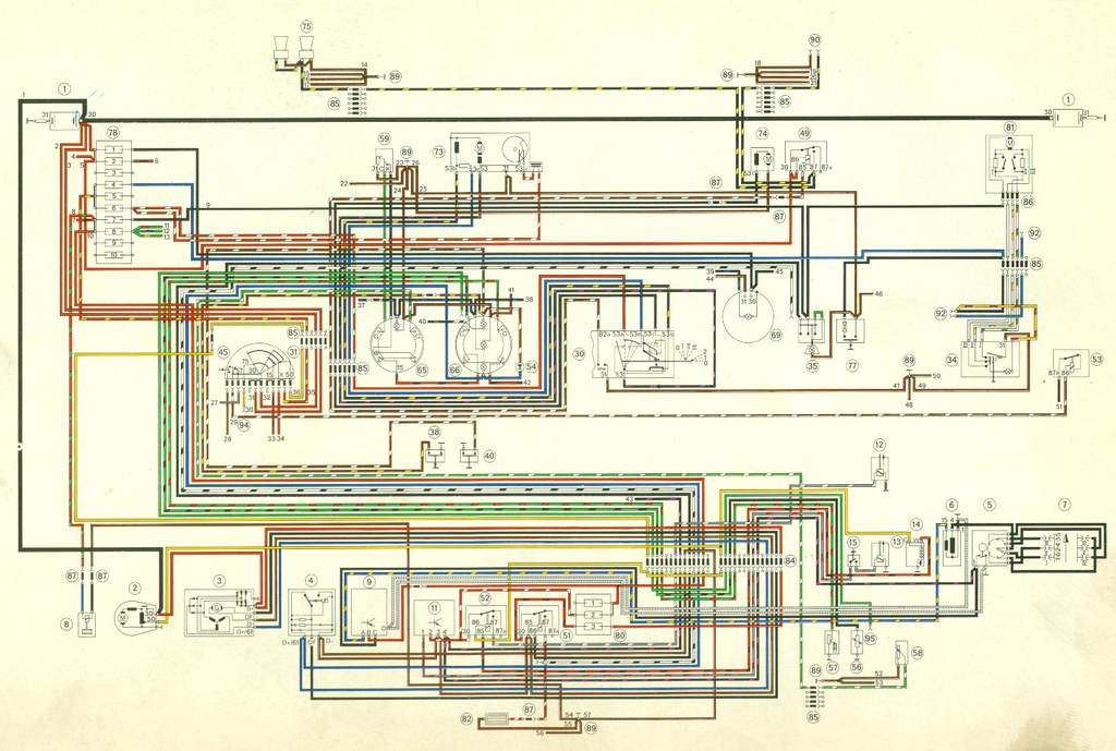 1971 porsche 911 wiring diagram 2 1971 porsche 911 wiring flickr rh flickr com porsche 911 alternator wiring diagram 1976 porsche 911 wiring diagram