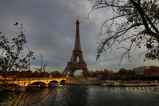 Eiffel Tower and Seine | by 1982Chris911 (Thank you 5.500.000 Times)