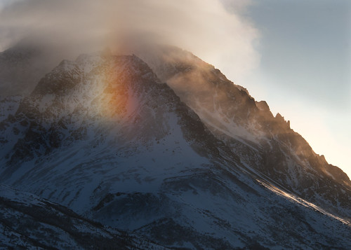 Sundog on the Range | by DenaliNPS