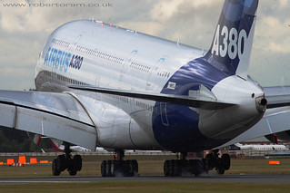 A380 Touchdown | by Robert Oram Photography