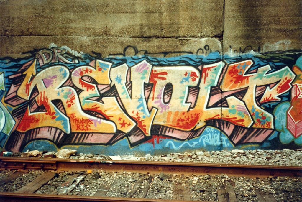Dr Revolt Graffiti
