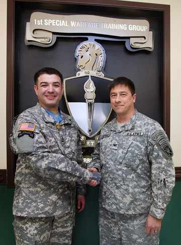 SFC. Leroy Petry, Medal of Honor Recipient, visits SWCS. | by USAJFKSWCS
