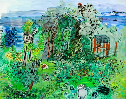 Raoul Dufy - Landscape, Villerville, 1930 at the Virginia ...