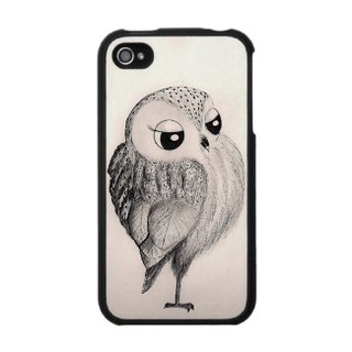 fancy_owl_iphone_4_hardshell_case_speckcase- For Sale at Zazzle | by Inkydreamz