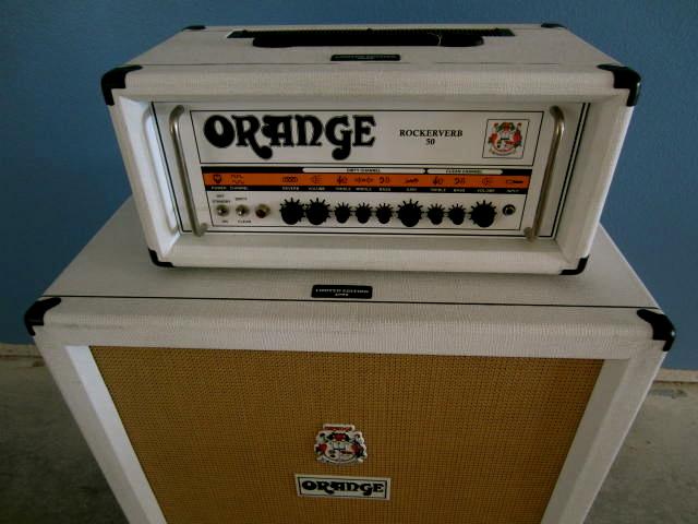 orange 4x12 cab