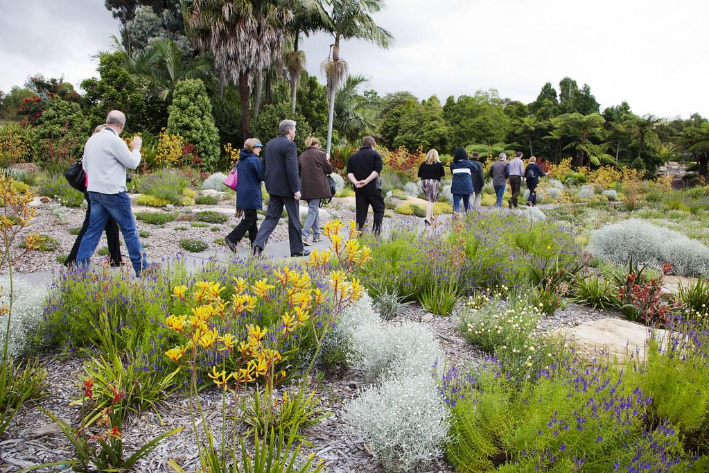 International Peer Review visits the Australian Botanic Ga… | Flickr