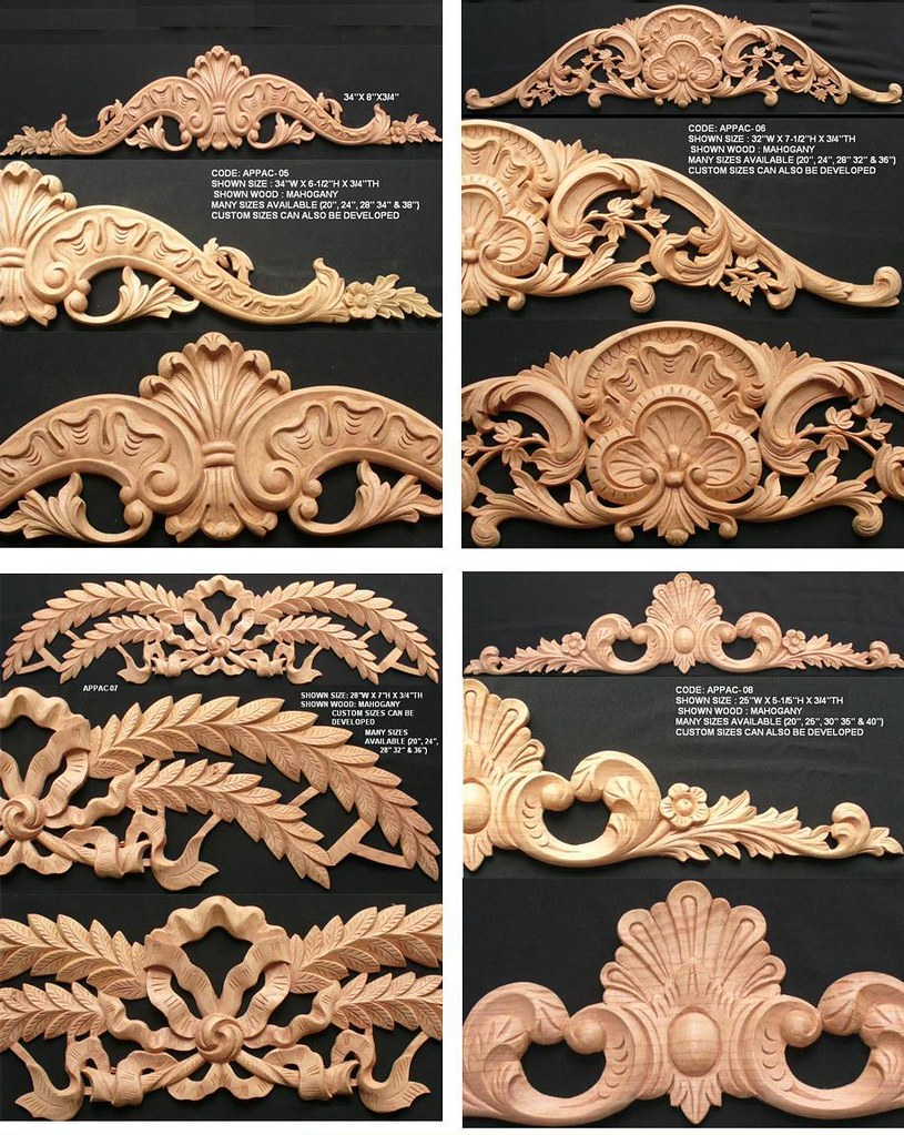 wooden appliques for furniture. Wood Carved Appliques | By ASIA CARVINGS Wooden For Furniture O