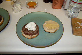 Chèvre on the Burger | by Lucky Mike Rocks