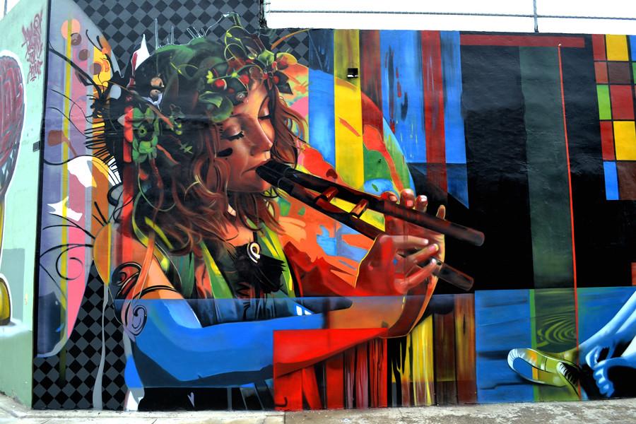 Wynwood Walls Kobra By Eduardo Kobra