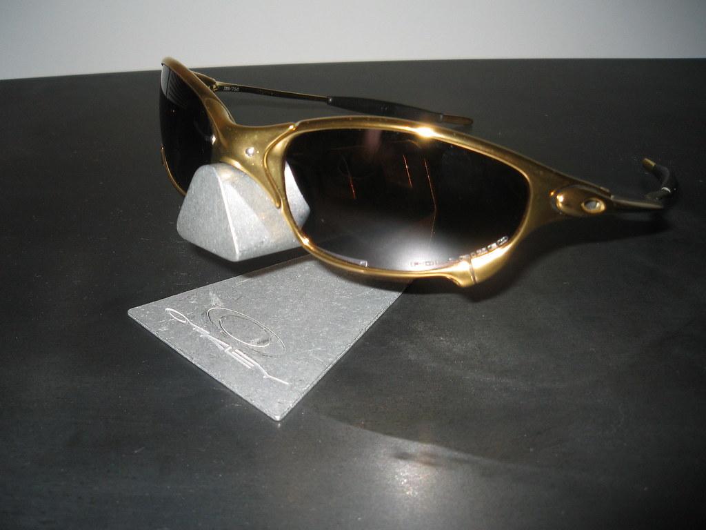 ... Oakley Juliet® Limited 24K w Titanium Iridium Polarized   by yodu180 3885867df4
