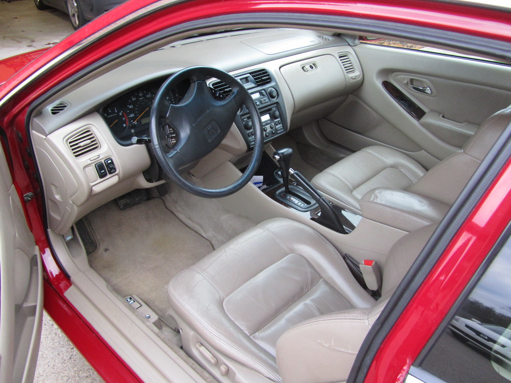 ... 1998 Honda Accord Coupe EX V6, Interior | By Jd00510