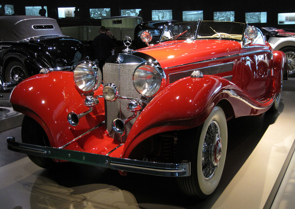 1936 mercedes-benz 500k spezial-roadster - mercedes benz m… | flickr