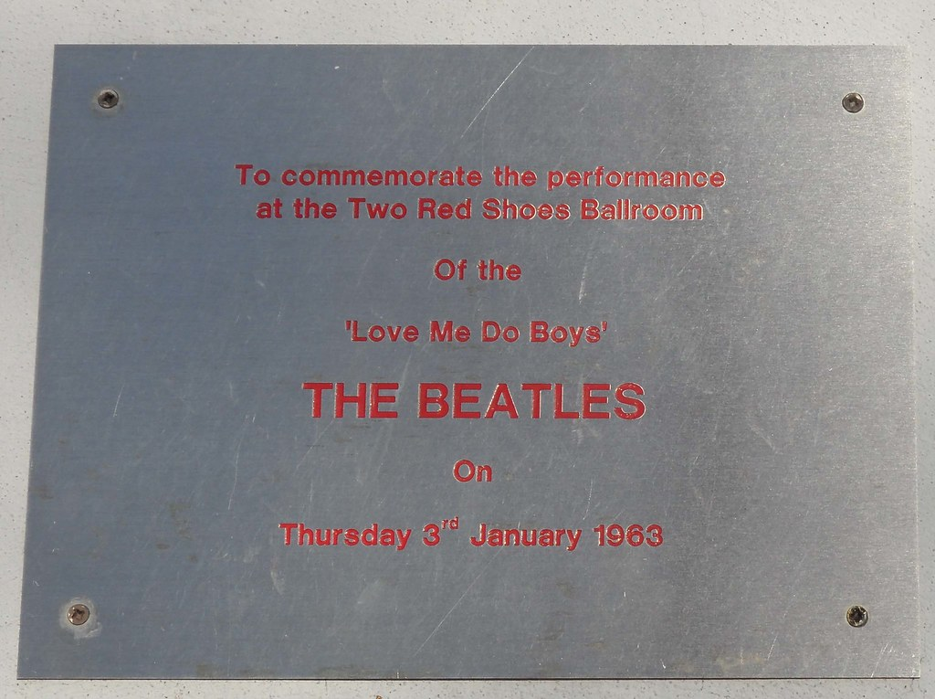 Two Red Shoes Plaque - Elgin | Two Red Shoes Ballroom Now re… | Flickr