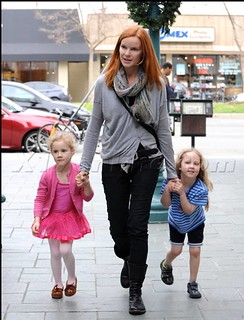 Marcia Cross and Daughter in Minnetonka Thunderbirds 12.19.11 | by Minnetonka Moccasin Co