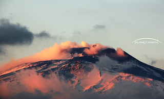 Etna ...fog, smoke and sunset | by piero giuffrida | jebel