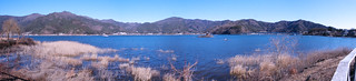 panorama at Lake Kawaguchi | by hamapenguin
