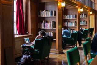 Studying in the Tower Room of Baker Library | by Dartmouth Flickr