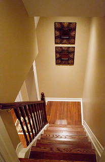 Stairs and Walk Out Finished Basement | by finishedbasement.ca