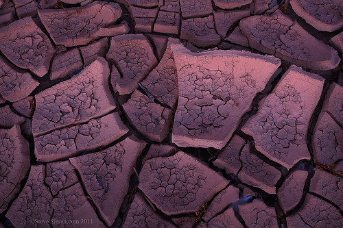 Death Valley Mud Cracks | by Steve Sieren Photography