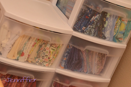 Fabric Drawers | by Jenniffier
