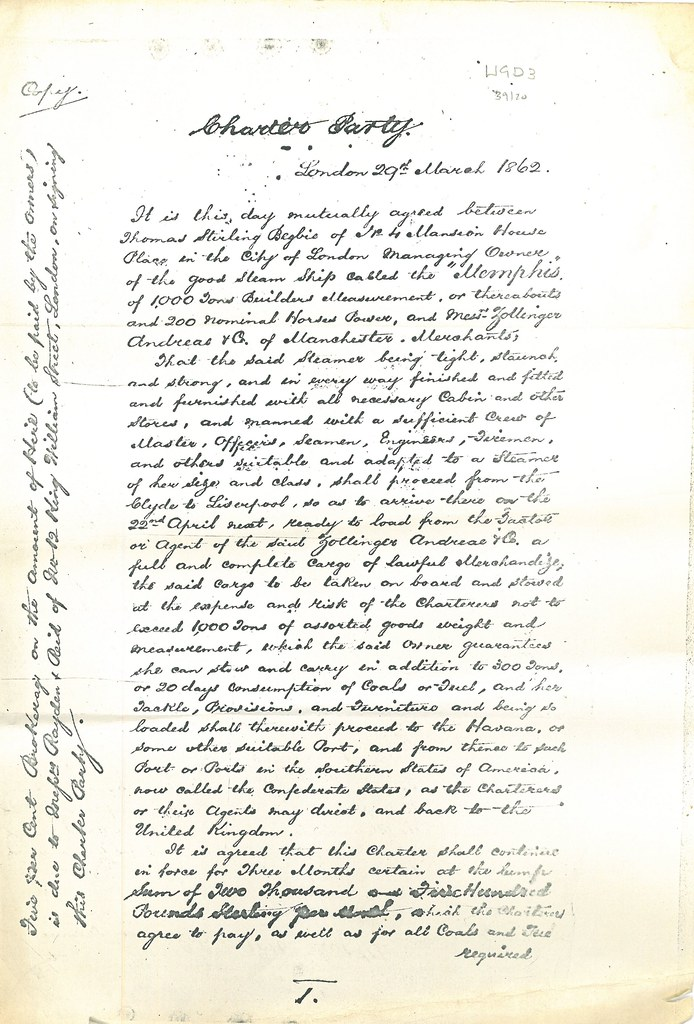 Charter Agreement Concerning The Memphis Charter Agreement Flickr