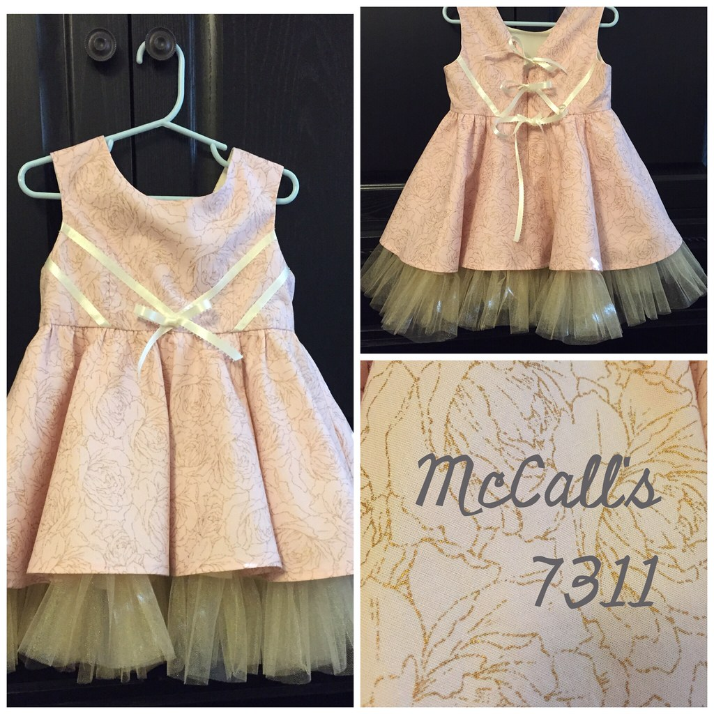 She Will Be Wearing M7311 A Birthday Gift For My 2 Year Old Niece