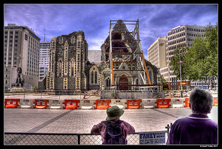 Christchurch Earthquake - Cathedral Square Open | by Geoff Trotter
