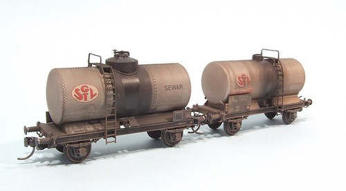 Finished tank wagons | by Phil_Parker