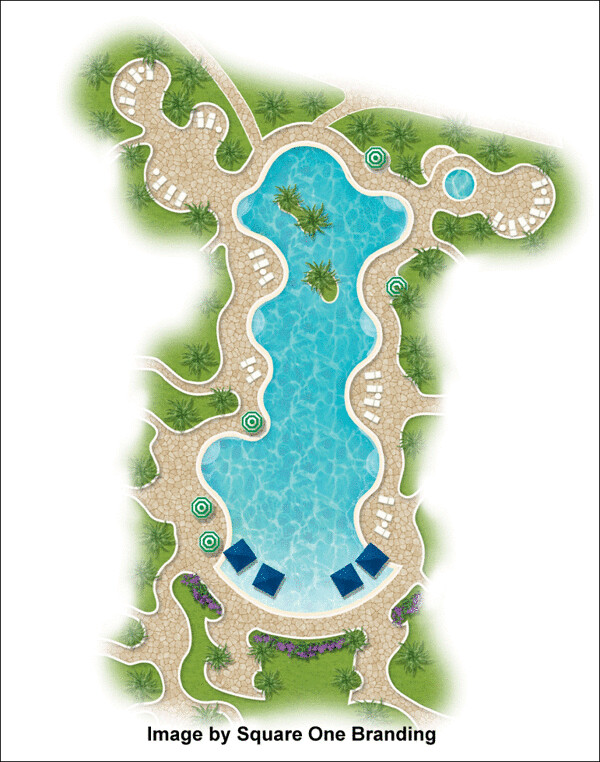 2d Landscape Plan Using Landscape Architecture Symbols Flickr