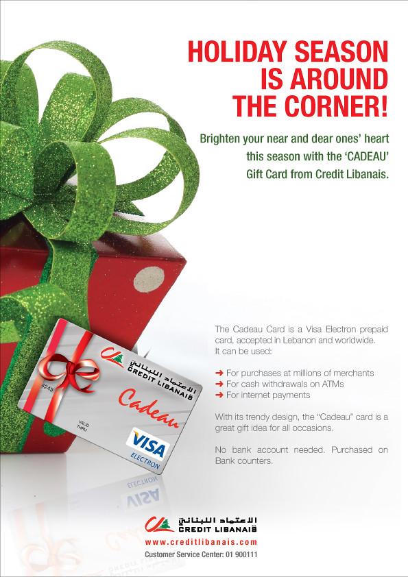 Credit Libanais Gift Card   Credit Libanais Holiday Gift Car…   Flickr