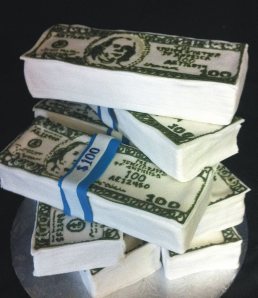money cake kick ass kakes Flickr