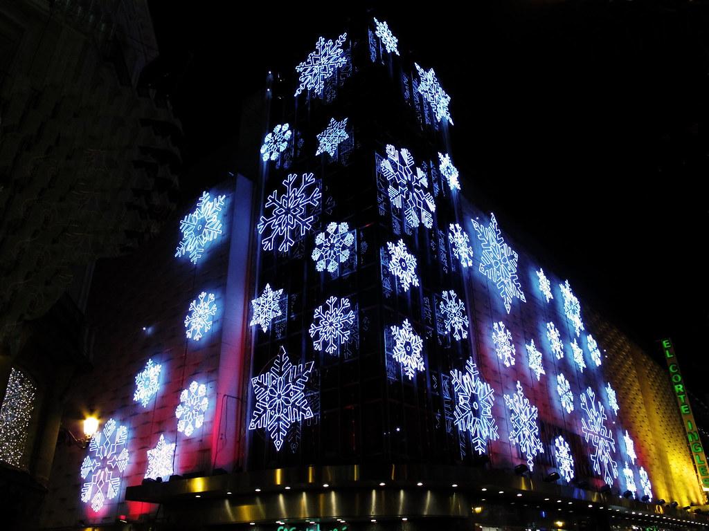 Iluminacion Navidena Del Corte Ingles En La Calle Preciado Flickr - Iluminacion-el-corte-ingles