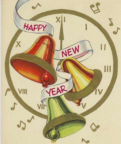 Vintage Happy New Year