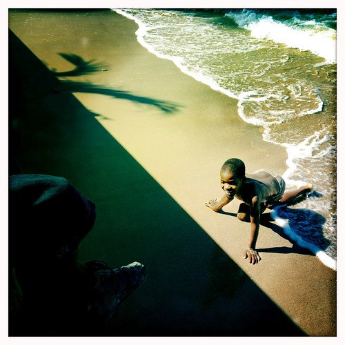 Haitian children enjoying the sea - HAITI - | by C.Stramba-Badiali