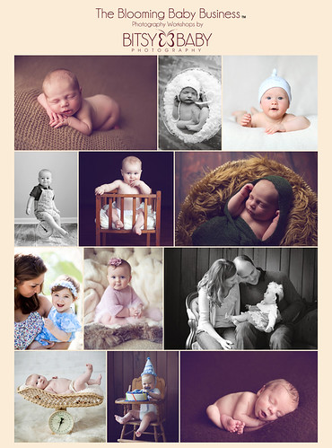 Baby Photography Workshop Flyer | by Bitsy Baby Photography [Rita]
