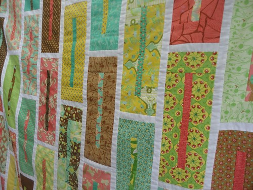 Botany Jelly Roll quilt | by staceyl2011