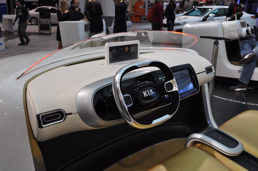 Kia At The 2012 Ces Kia Arrived In Las Vegas To Join The 2 Flickr