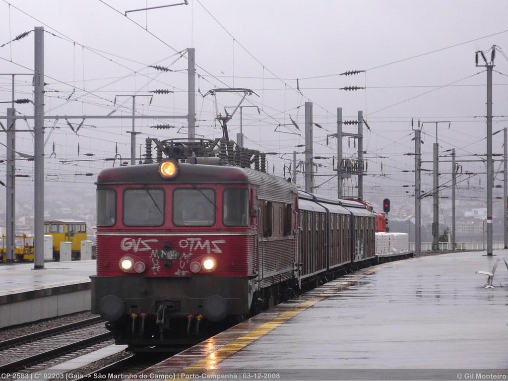 ... CP 2563 | Cº 92203 | Porto-Campanhã | 03-12-2008 |